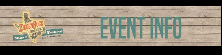 EVENT INFO Header Image